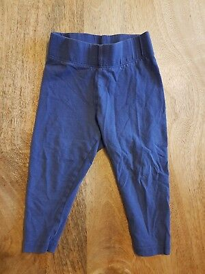 Blue Mini Boden girl's leggings - 1.5-2 years - excellent condition