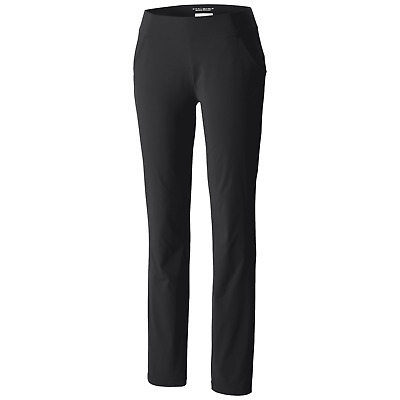 Columbia Women's Anytime Casual Straight Leg Pull On Black Pants 9124 Size Large