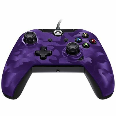 Pdp Wired Controller - Purple Camouflage Xbox One