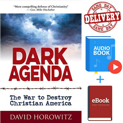 🔥DARK AGENDA🔥The War to Destroy Christian America ËBooks+Audio Fast Delivery