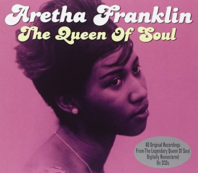 Aretha Franklin-The Queen of Soul CD NEW