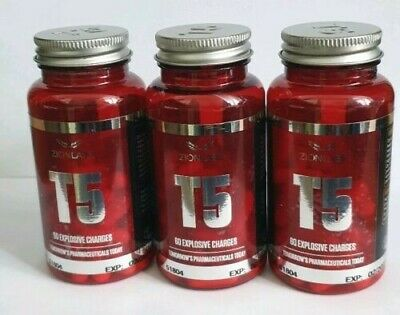 3 TUB x ZION LABS ORIGINAL T5 FAT BURNERS💥SPECIAL OFFER PRICE 💥VERY STRONG