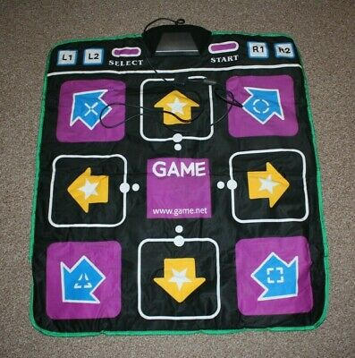 Game Branded PlayStation Activity Dance Mat ~ FREE P+P