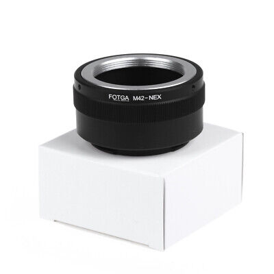 Metal Fotga M42 Adapter Ring for M42 Lens to Sony NEX E-mount A7 A6000 Camera