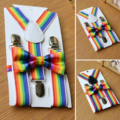 Boys Kids suspender Girls Kids Wedding Unisex Kids suspender Evening Retro