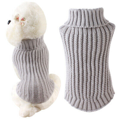 Small Dog Large Christmas Dog Sweater Clothes Cute Knitted Jumper Apparel XMAS