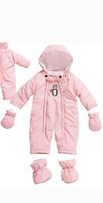 Playshoes Unisex Baby Schnee-Overall Pinguin Schneeanzug