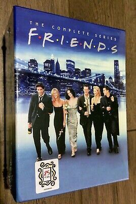 Friends: The Complete Series (DVD, 32 Disc Set, 2019) 25 Years Edition ~SEALED~