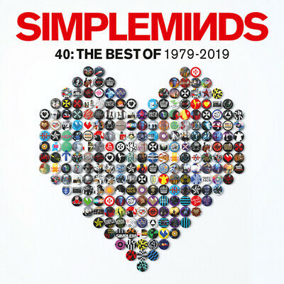 Simple Minds : 40: The Best of 1979-2019 CD Deluxe  Box Set 3 discs (2019)