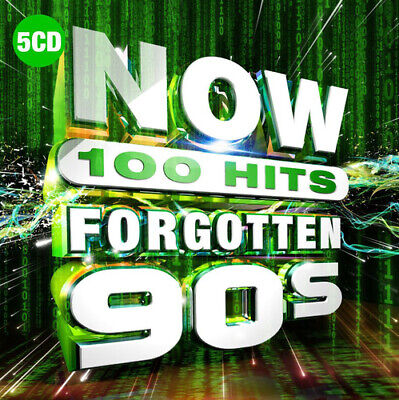 Various Artists : Now 100 Hits: Forgotten 90s CD Box Set 5 discs (2019)