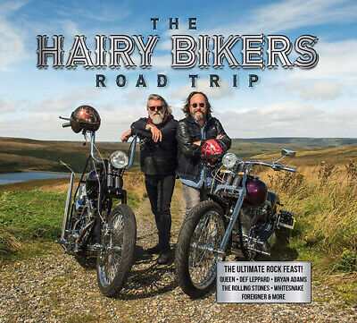 Various Artists : The Hairy Bikers Road Trip CD Box Set 3 discs (2019)