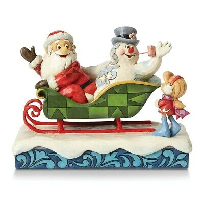 Jim Shore Frosty the Snowman Santa, Frosty and Karen Figurine Christmas Gift