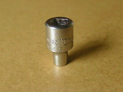 """Old Style /""""BRITOOL/"""" 3//4/"""" Drive 9//16/"""" WHITWORTH 12 Point SOCKET HB1010"""