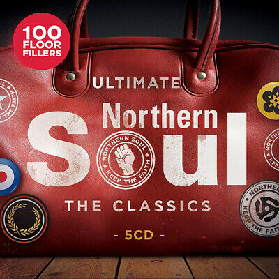 Various Artists : The Classics: Ultimate Northern Soul CD Box Set 5 discs