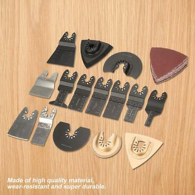 40pcs Saw Blades Oscillating Multi Tool Accessories Kit for Repairing Cutting