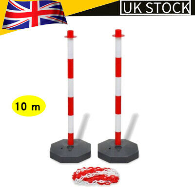 10 m Traffic Cone Plastic Chain Holder / Workplace Health & Safety Barrier