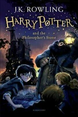 Harry Potter and the Philosopher's Stone by J. K. Rowling 9781408855652
