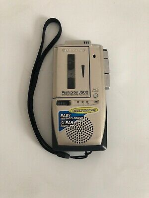 Olympus Pearlcorder J500 Dictaphone Micro Cassette Recorder Working