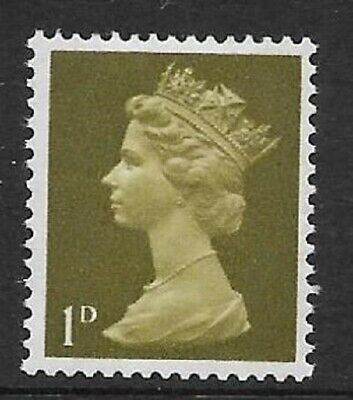 Sg 724 U2b 1d Pre-decimal Machin - on uncoated paper UNMOUNTED MINT/MNH