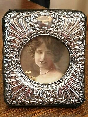 vintage victorian style english london silver 1992 picture photo frame