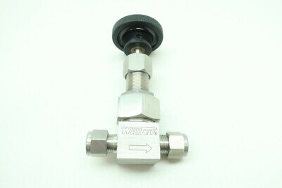Whitey SS-6TS6 Manual Stainless Needle Valve 3/8in