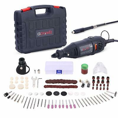 GOXAWEE Rotary Tool Kit, 130W Multi Purpose Electric Die Grinder Set with