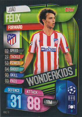 Topps Match Attax Champions League 19 20 2019 2020 WKI15  Joao FeliX Wonderkids