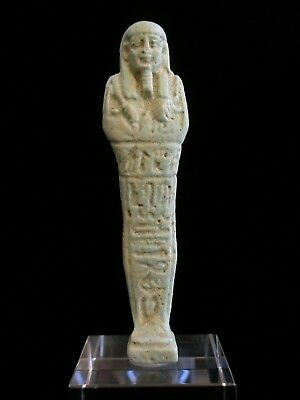 Ancient Egyptian aFaience Ushabti