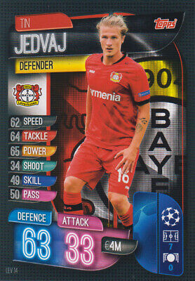 Topps Match Attax Champions League 19 20 2019 2020 LEV14  Tin Jedvaj Basis Karte