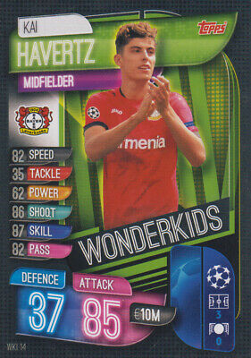 Topps Match Attax Champions League 19 20 2019 2020 WKI14  Kai Havertz Wonderkids