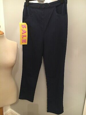 Size 16 High Waisted 'cigarette' Trousers By COLLECTIF VINTAGE