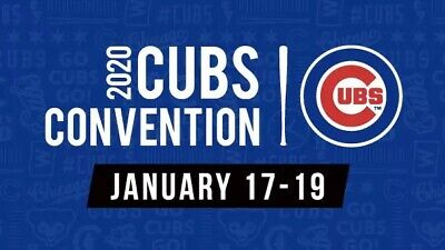 2020 Cubs Convention Passes - 1/17/20 - 1/19/20