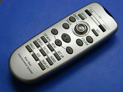 2010 Toyota HIGHLANDER REAR DVD Entertainment Remote REAR SEAT OEM 86170-45020