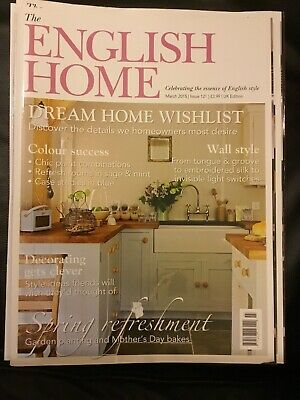 The English Home Magazine March 2015 #121