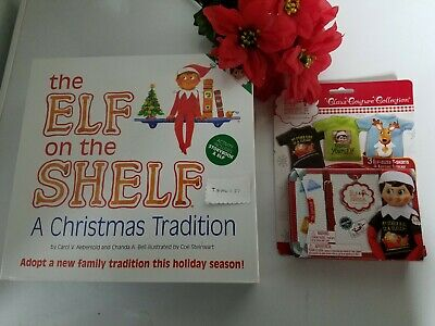 The Elf on the Shelf: A Christmas Tradition boy brown hair blue eyes/ multi pack