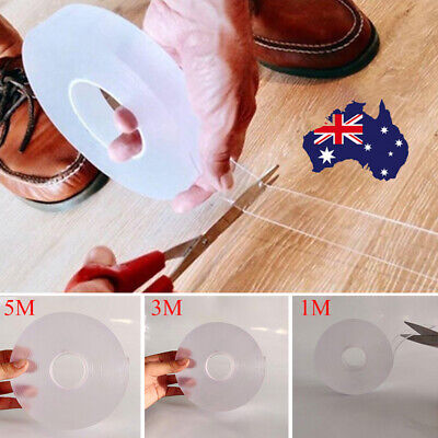 Traceless Washable Adhesive Double-sided Grip Tape Nano Invisible Gel Supplies