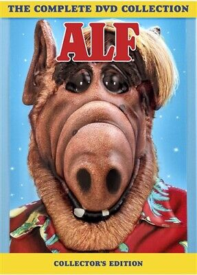 ALF THE COMPLETE DVD COLLECTION New 24 DVD Set Complete Series Seasons 1 2 3 4