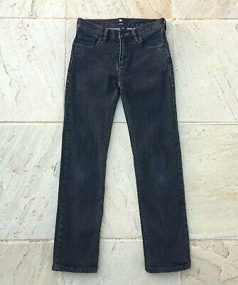 Dc Boys Boys Sz 12 Black Denim Jeans, Very Good Condition.
