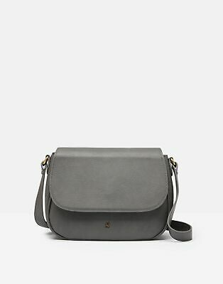 Joules  209442 Faux Leather Saddle Bag in DARK GREY in One Size