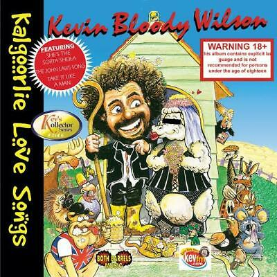 Kevin Bloody Wilson - Kalgoorlie Love Songs Cd ~ Australian Comedy *New*