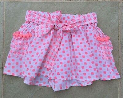 Seed Girls Size 6, Tie Front Shorts That Look Like Skirt, New Without Tags.