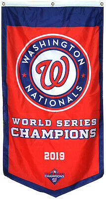 Washington Nationals 2019 world series champions Banner Flag 30x50inch Decor