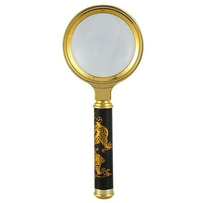 3X(8X Magnifying glass Reading magnifier Read instructions handheld magnify U1B9