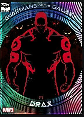 Topps Marvel Collect Guardians of the Galaxy 1st Print Drax (Digital)