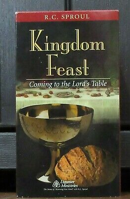RARE R.C. Sproul Ligonier Kingdom Feast Lord's Table Communion VHS 2 Tape Lot