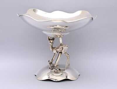 VERY NICE SOLID SILVER CENTERPIECE. WEIGHT: 495 grams / 17.46 ounces