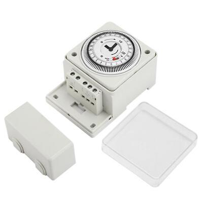 1PC PFTS-189 AC110-240V Mechanical Timer Delay Time Relay Controller Day Cycle