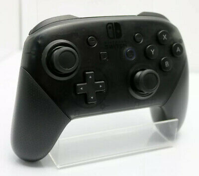Nintendo Switch Official Pro Controller Black + Brand New USB-C Cable