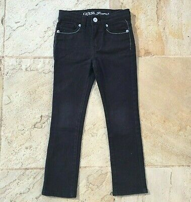 Guess Girls, Size 6 Black Jeans, In Very Good Condition.