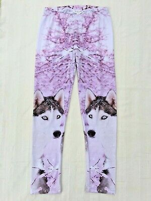 Pumpkin Patch Girls Size 12 Snow Husky Leggings, As New Condition.